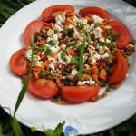 pomidory z soczewicą