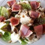 Śródziemnomorska sałatka z figą