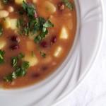 Francuska zupa fasolowa
