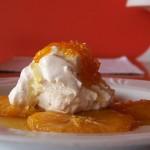 Serek mascarpone z pomarańczą